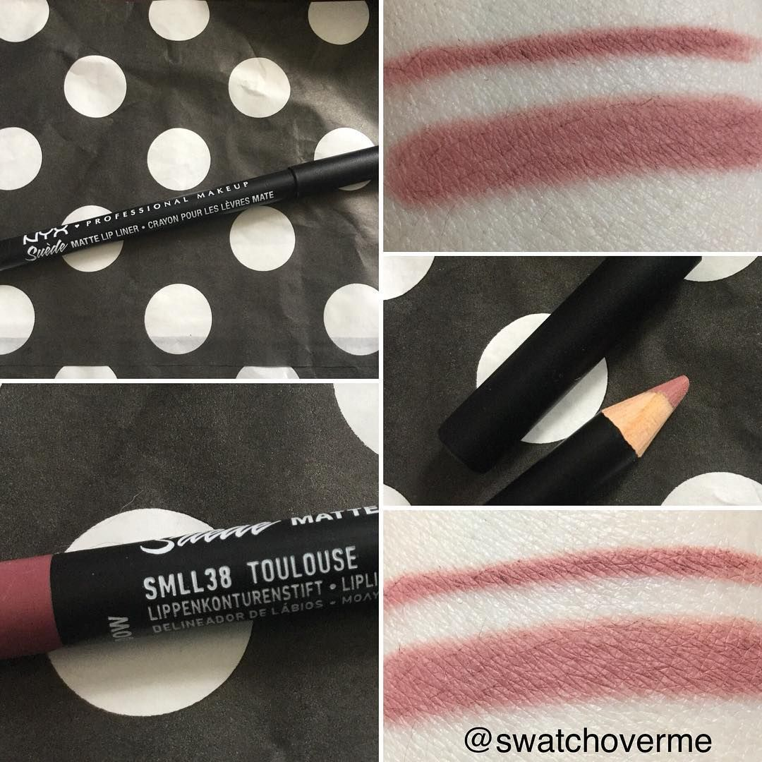 Nyx Cosmetics Slide On Liner In Toulouse From All The Swatches I