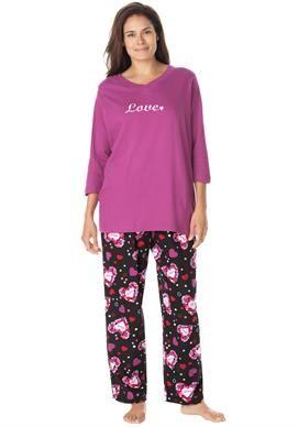 3 4 sleeve pajama set by Dreams   Co.  0e8973142