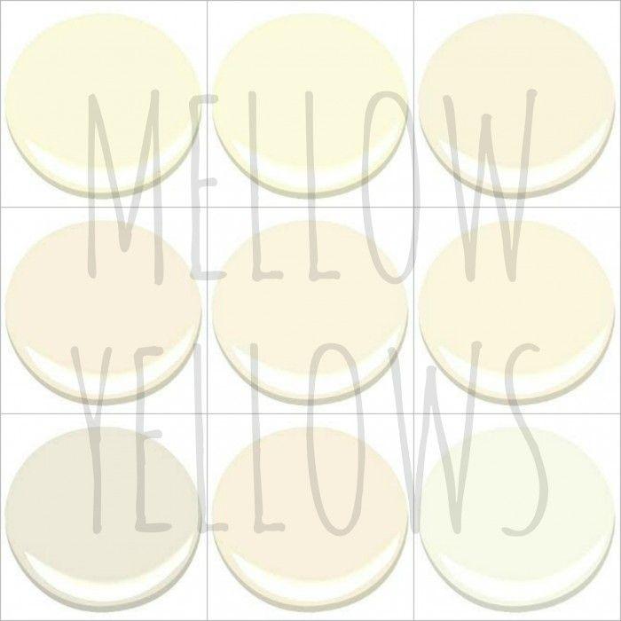 9 of my 10 favorite benjamin moore mellow yellows creme brulee creme fraiche - Benjamin Moore Creme Brulee