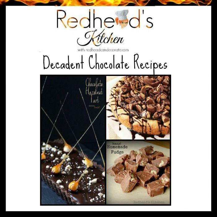 Redhead's Kitchen w/ Decadent Chocolate