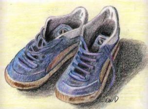 los zapatos colores