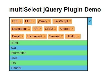 jQuery Plugin To Select Multiple Items From A Dropdown List