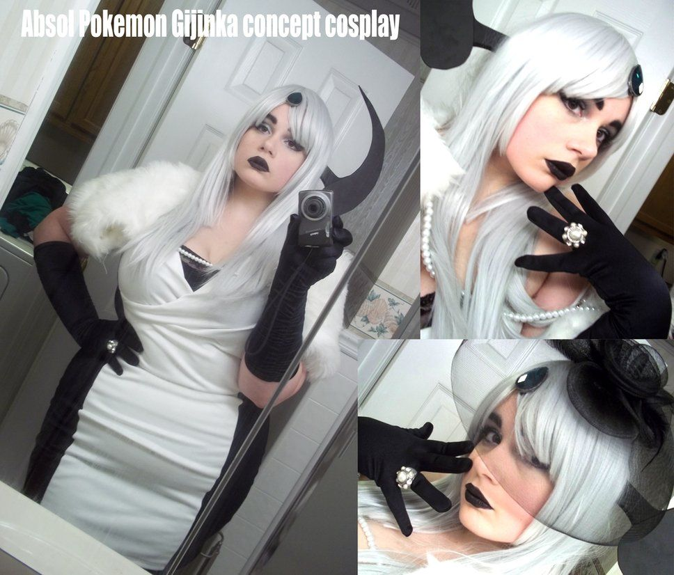 Colossalcon Absol Gijinka Cosplay by AceroTiburon on deviantART