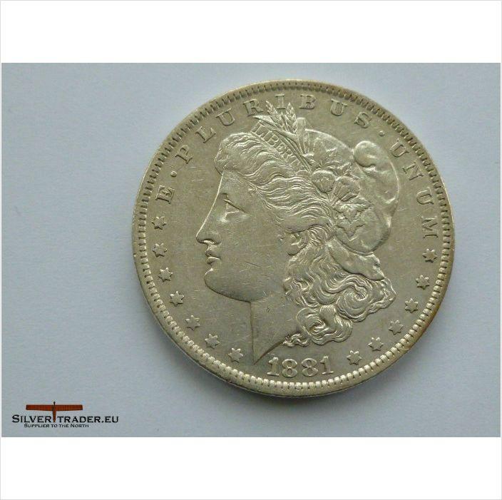1881 American Morgan O Dollar minted in New Orleans 1st coin on eBid United Kingdom