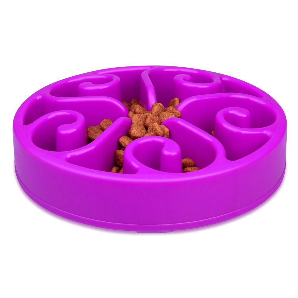 Slow Feed Dog Bowl Slow Feeder Dog Bowl Purple Dog Bowl Smart