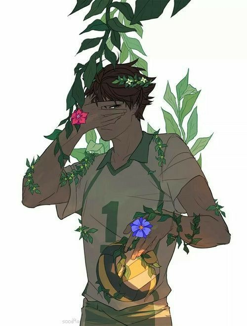 I brought you flowers (iwaoi) by Tootsuro