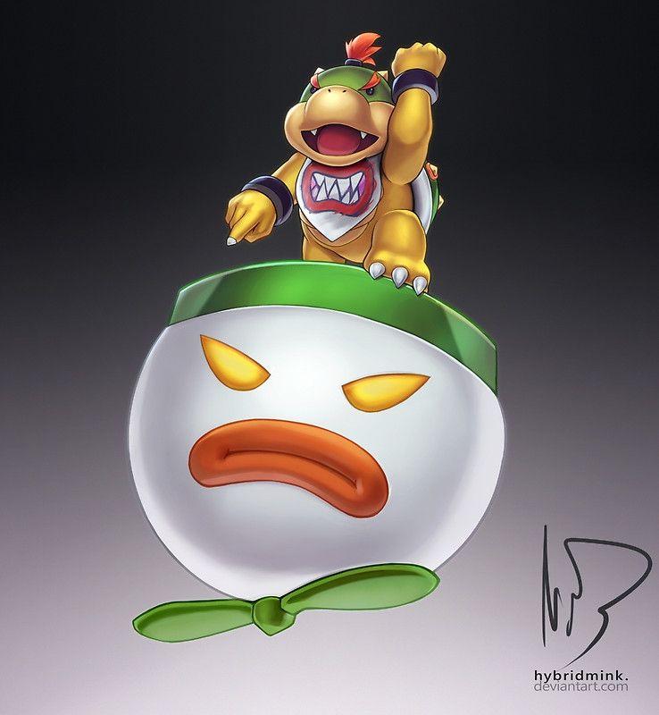 Bowser Jr Photographic Print Bowser Super Mario Bros