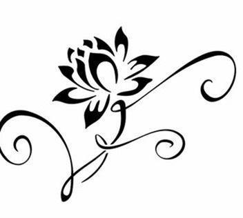 tatuaje flor de loto  Buscar con Google  Tatuajes  Pinterest