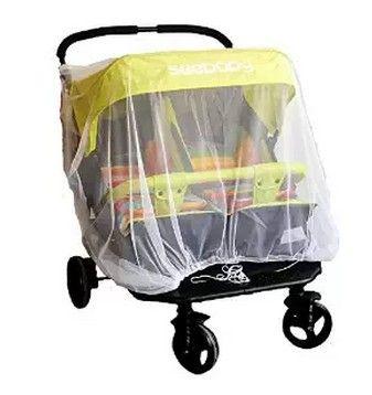 الوليد التوأم عربة ناموسية للتوائم طفل العربة عربة يدفع باليدين حامي يطير ميدج حشرة البق الغلاف الرضع التوأم ص Baby Strollers Twin Strollers Infants Baby Buggy