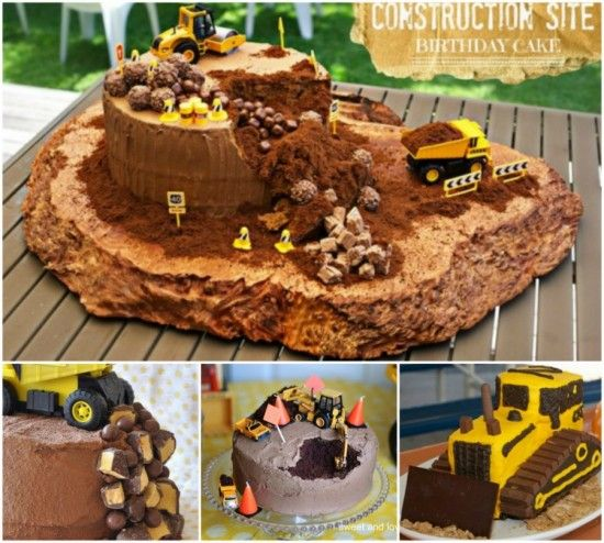 Construction Cake Ideas Very Easy Video Instructions Construction Cake And
