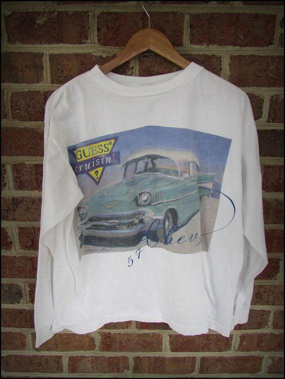 361e4def8851 Vintage 90's Guess Jeans Crusin' LS Shirt by CharchaicVintage, $20.00