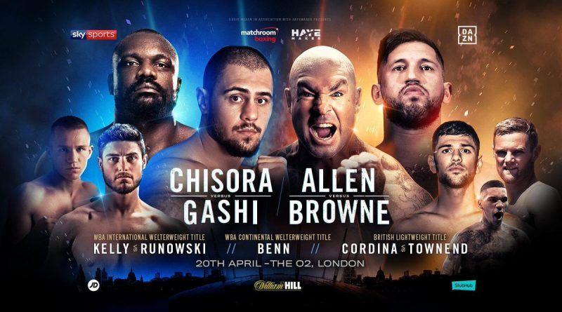 David Allen vs Lucas Browne live Stream free Boxing Fight