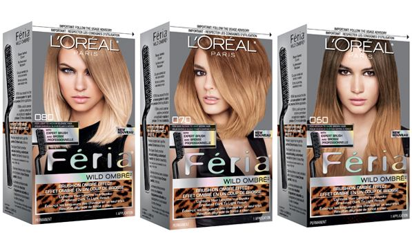 L Oreal Paris Feria Wild Ombre Collection Http Beautyeditor Ca 2013 04 25 How To Do Ombre Hair At Home With A New Ombre Hair At Home Ombre Kit Diy Ombre Hair