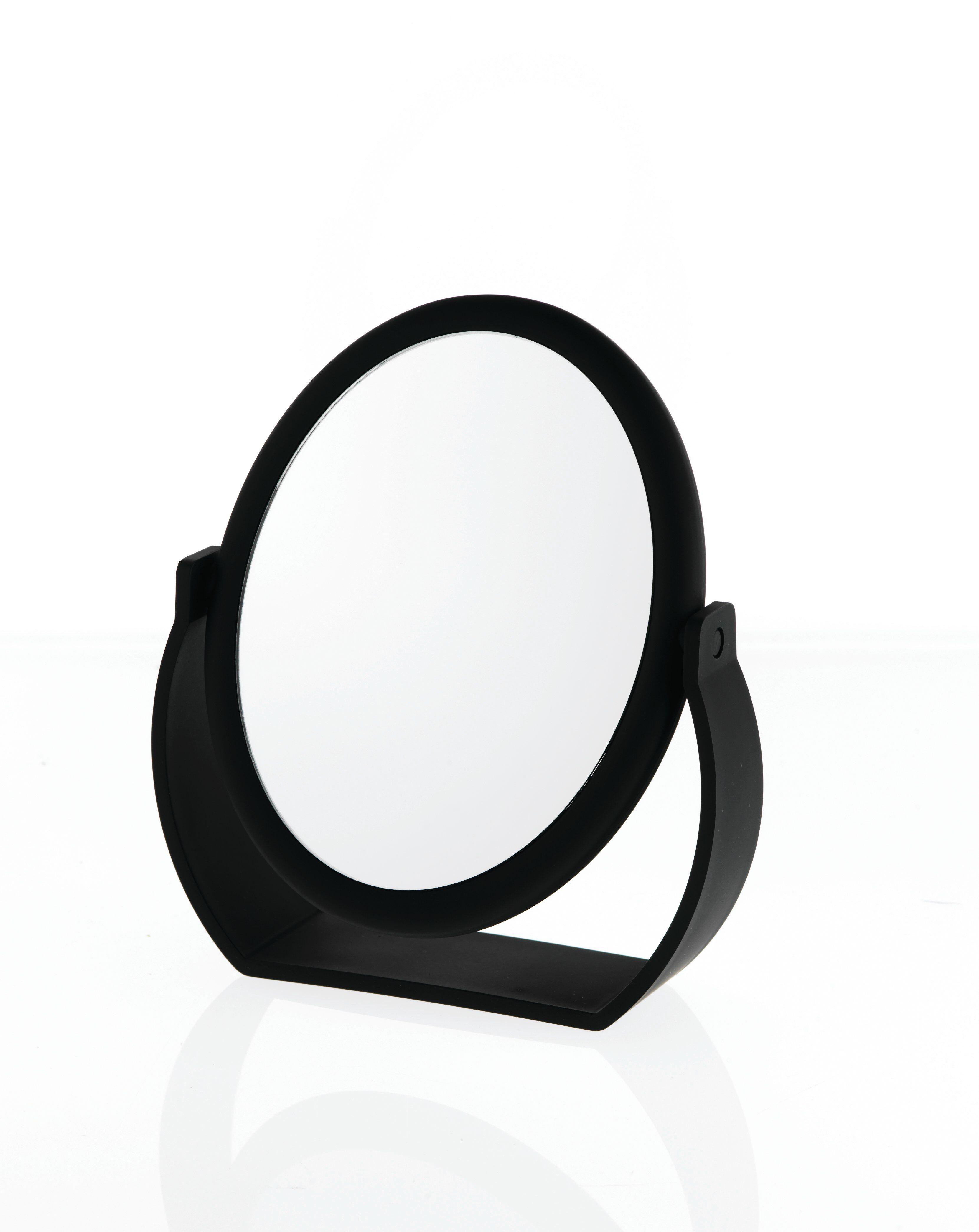 Midnight Matte Oval Vanity Mirror Mirror Vanity Mirror Cosmetic Mirror