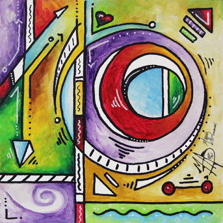 Creative Lifestyle Blog and Website for Contemporary PoP Artist Megan Aroon Duncanson AKA MADART™