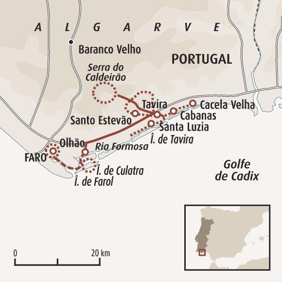 Nature Et Villages D Algarve Algarve Carte Portugal Et Portugal