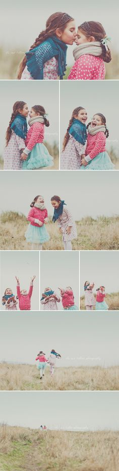Posh Poses | Children Photography | Sibling Pics | Sisters | Best Friends | Love These Colors | Candid | Fun | Real | Soft & Adorable