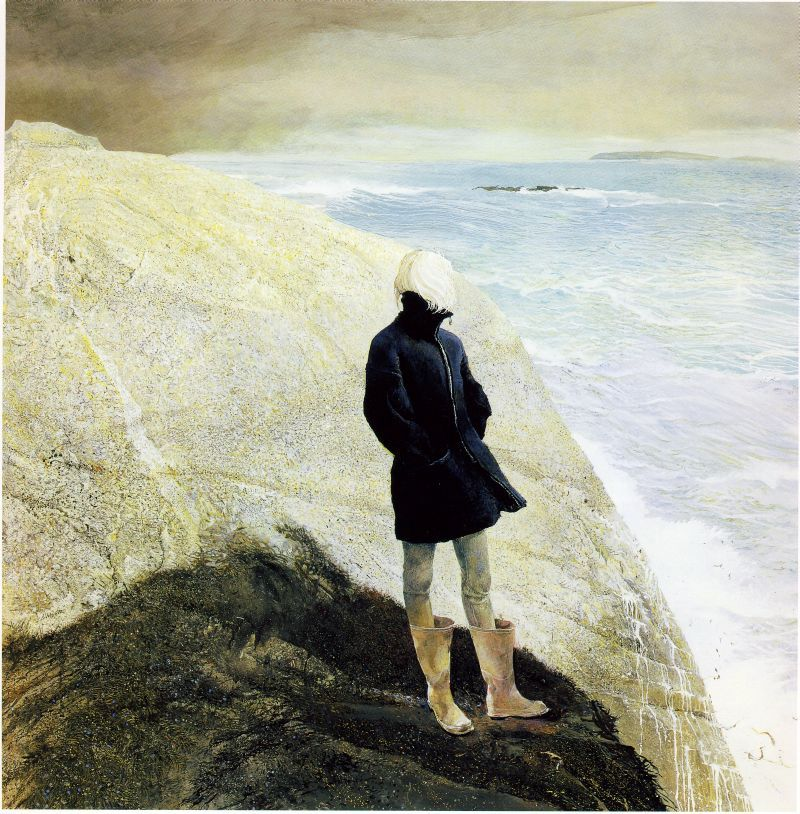 by.Andrew Wyeth ~ I love this because he learned from the best AND he added his own talent to create masterpieces ~ gosh, i will forever be a Wyeth fan!