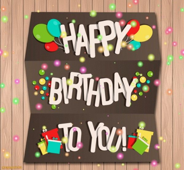 Happy Birthday To You GIF Animated ECard