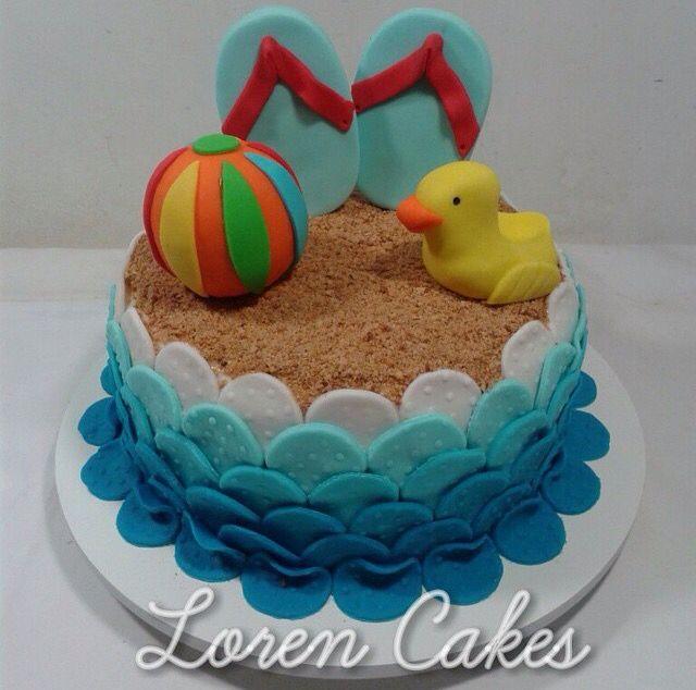 Easy Sex On The Beach Cake