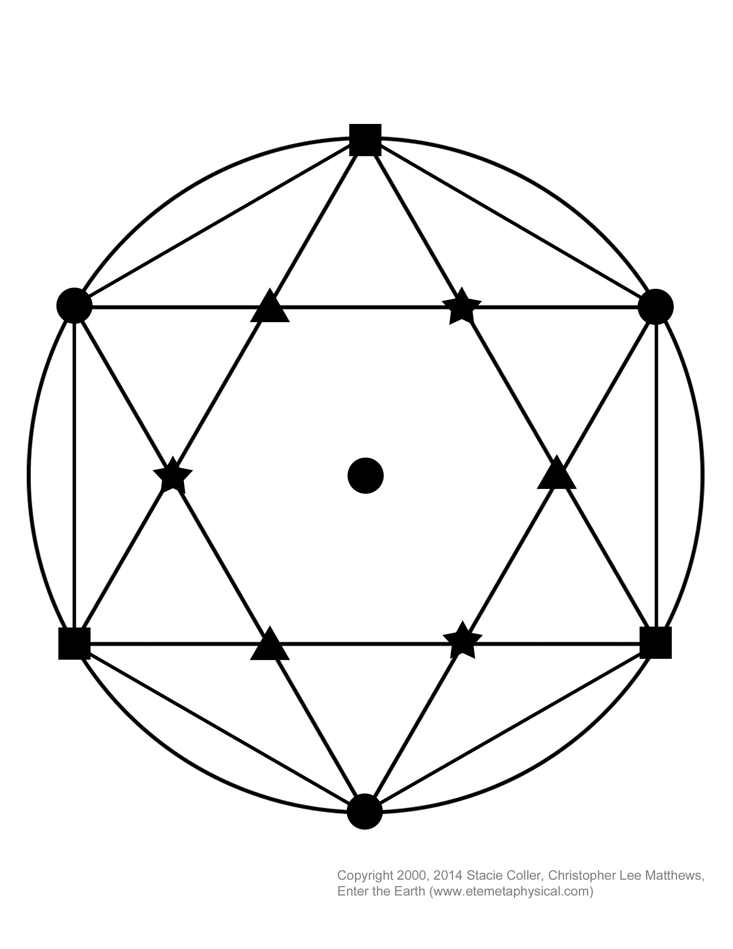 It's just a picture of Hilaire Printable Crystal Grid