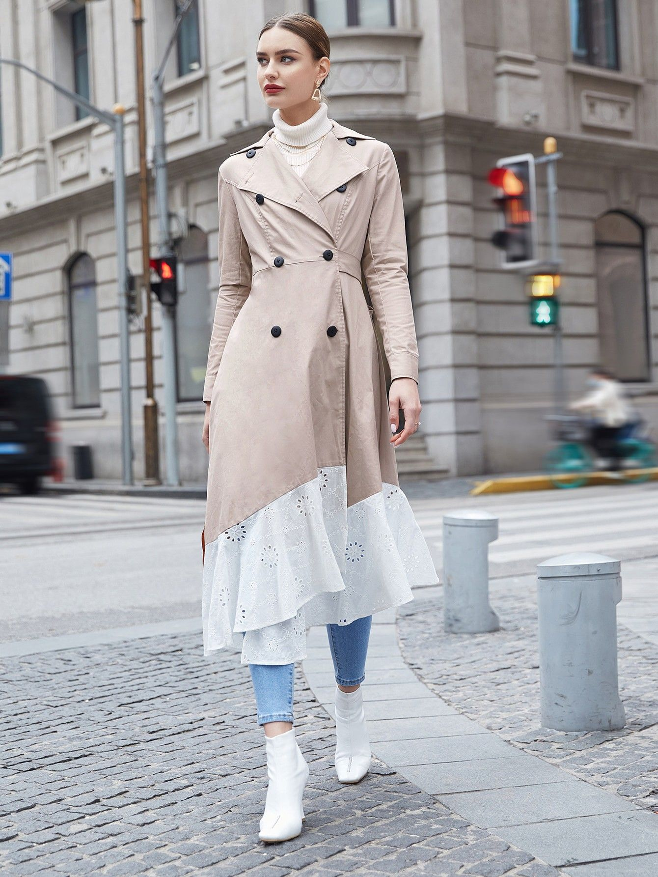 Pin By Ghenima On Ghenima In 2021 Coat Trench Coat Fashion