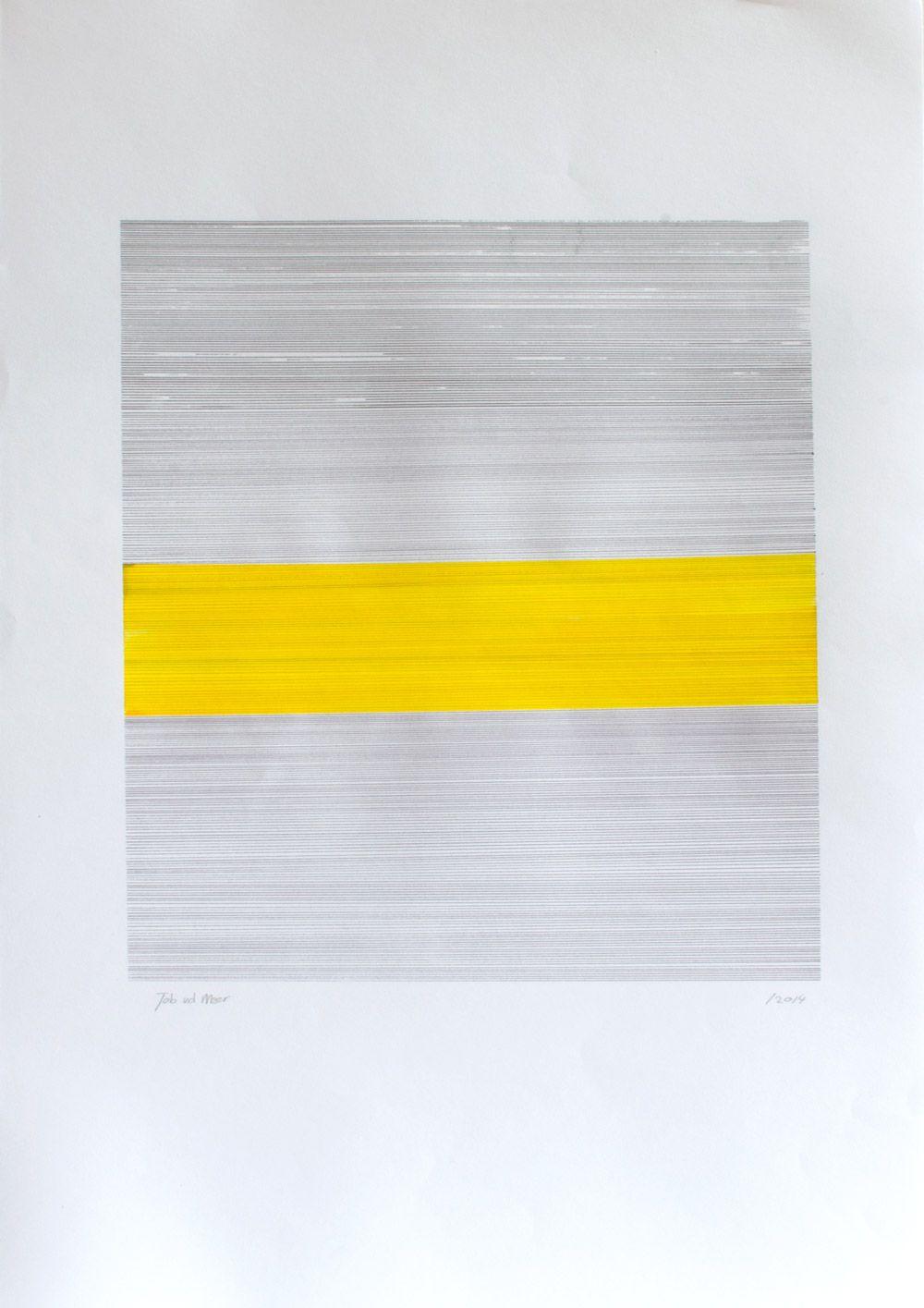 Job van der Meer N° B 2044 Ink paper