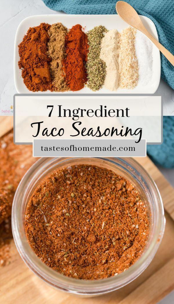 7 Ingredient Taco Seasoning