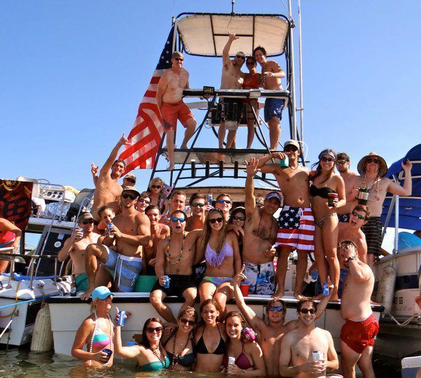 Party Island Beach: Pin On Boating Events In Destin, Florida