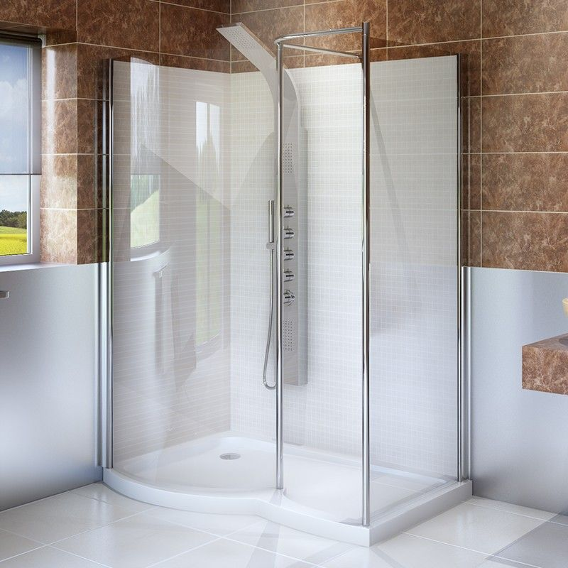 This Walk In Shower Enclosure Is A Unique Stylish And Spacious