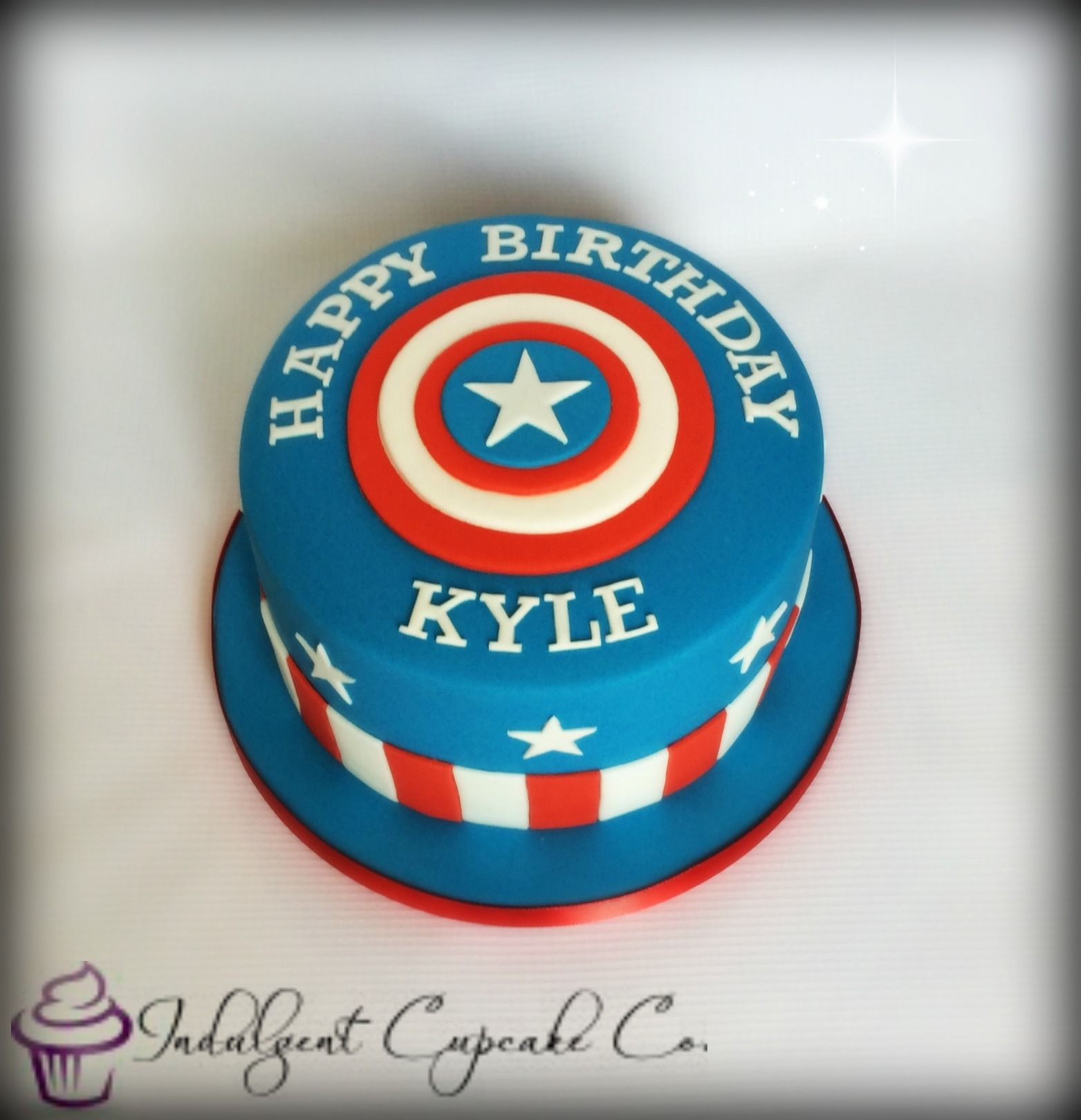 Captain America cake My Cakes Pinterest