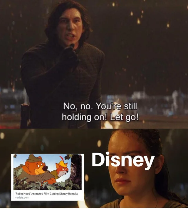 Memes Of The Star Wars Sequels Disney Jokes Memes Funny Memes