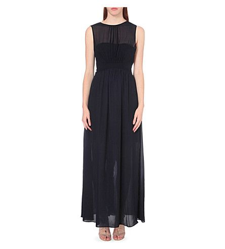 REISS - Clara crepe maxi dress | Selfridges.com | Bridesmaids ...