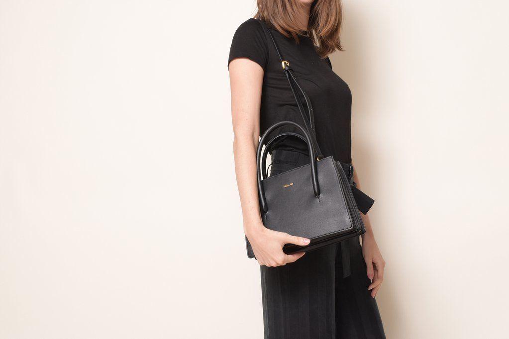 5c0e612d60f4 Eleanor Satchel - Black