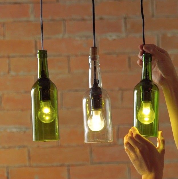 How To Create A Wine Bottle Lights Diy Projects Craft Ideas How