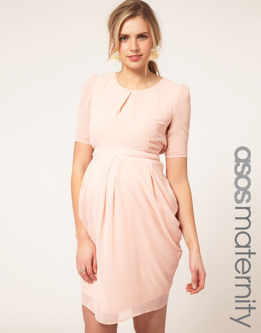 Peach dress maternity style pinterest maternity fashion peach dress ombrellifo Image collections