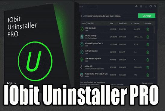 Iobit Uninstaller Pro 9 2 0 16 Final Pro Finals