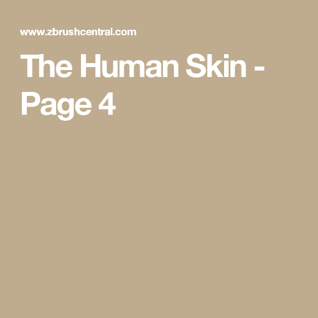 The Human Skin - Page 4