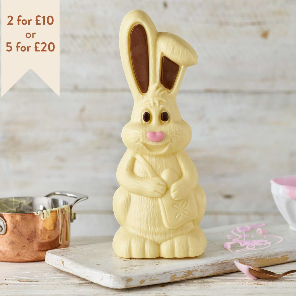 White chocolate harry hopalot 200g easter gifts thorntons white chocolate harry hopalot 200g easter gifts thorntons negle Images