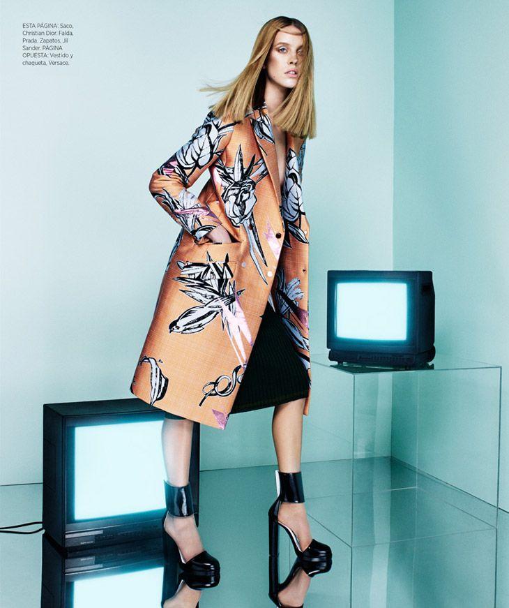 Julia Frauche for Harper's Bazaar Latin America by Jason Kim