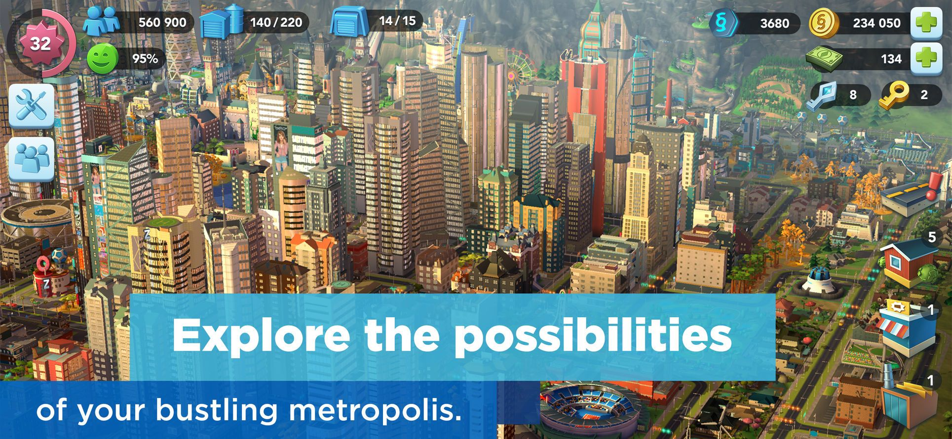 what is simcity supposed to simulate