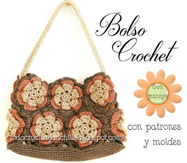 Todo crochet | Esquemas, Crochet patrones y Patrones