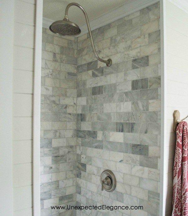 DIY Shower Renovation {Using an AMAZING System} | Diy shower, Shower ...