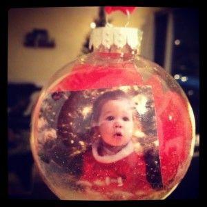 Diy Christmas Ornament With Photos Do With A Photo From Christmas Every Year Picture Christmas Ornaments Diy Christmas Ornaments Christmas Ornaments