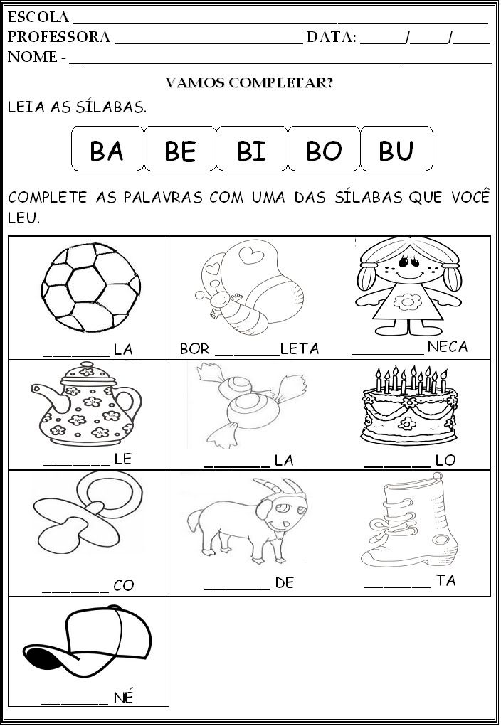 Pin Em Educacao Infantil
