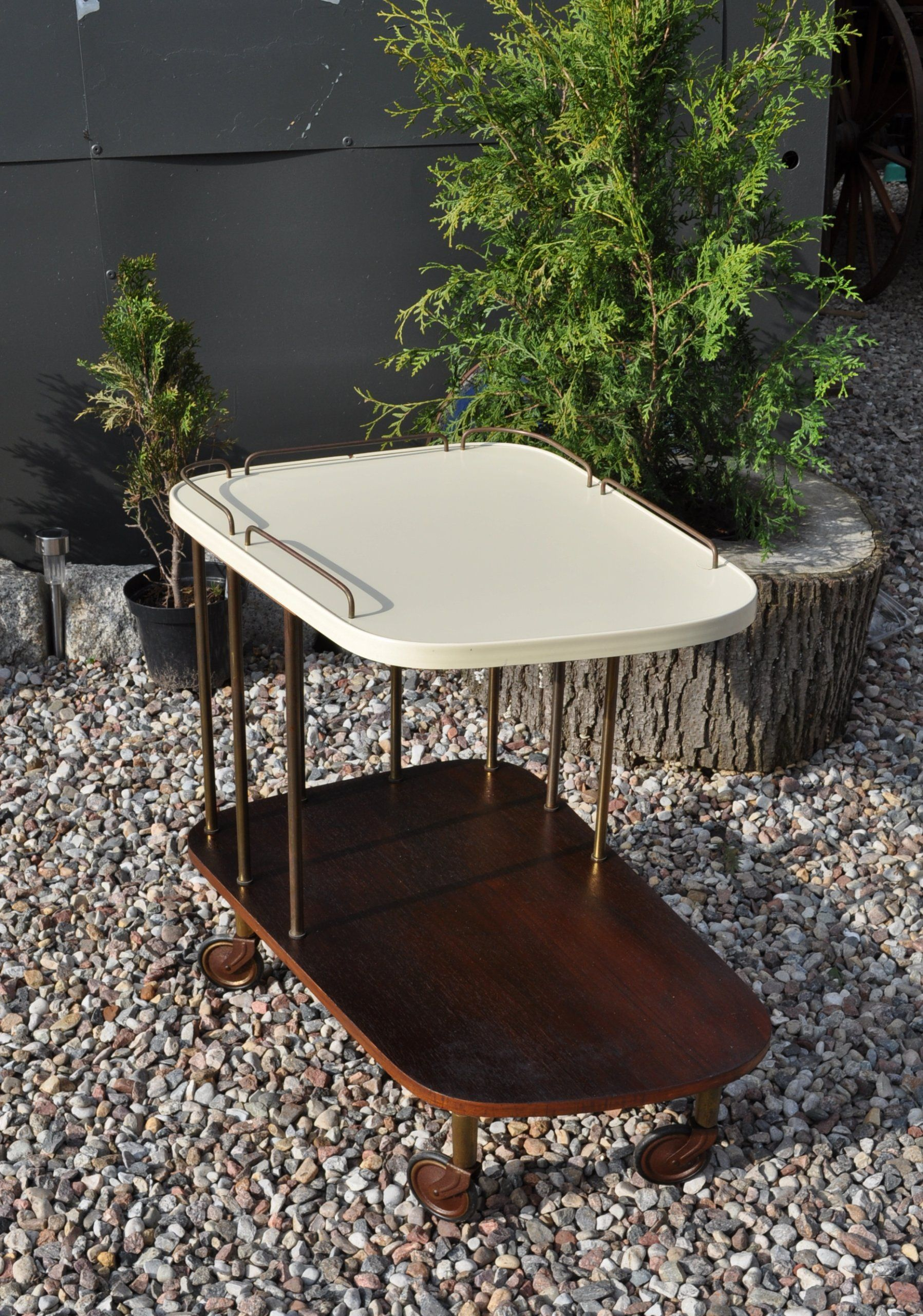 Stolik Barek Na Kolkach Do Serwowania Vintage 7299938832 Oficjalne Archiwum Allegro Coffee Table Home Decor Decor