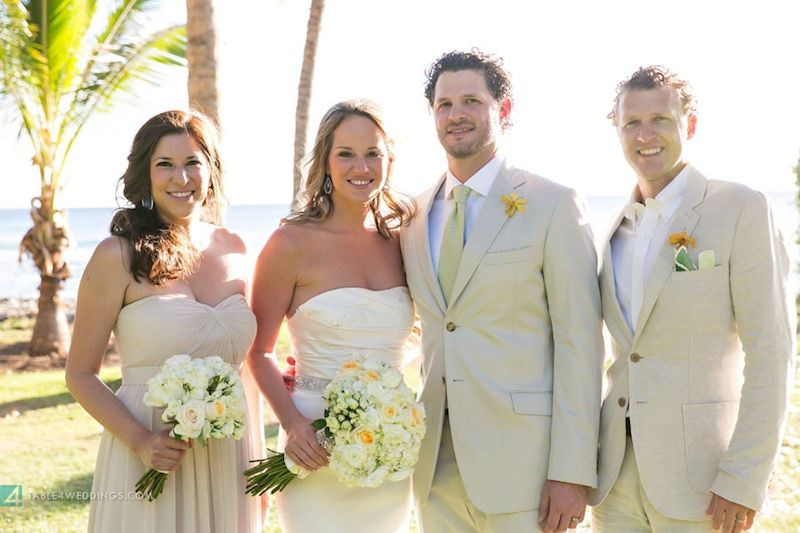 GRO Floral and Event Design   Tiffaney & Chase :: Once Upon A Time, On a Beach in Maui…