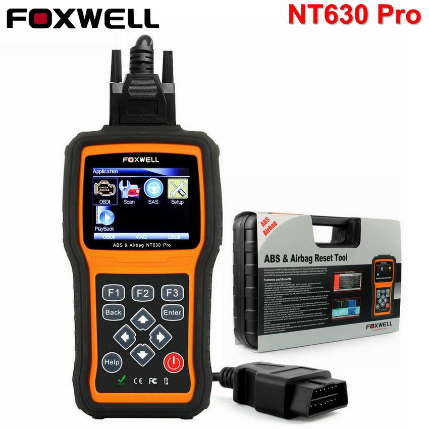 OBD2 Automotive Scanner Foxwell NT630 Pro ABS SRS Airbag