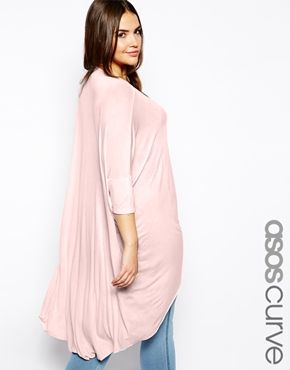 Enlarge ASOS CURVE Exclusive Top With Dip Back