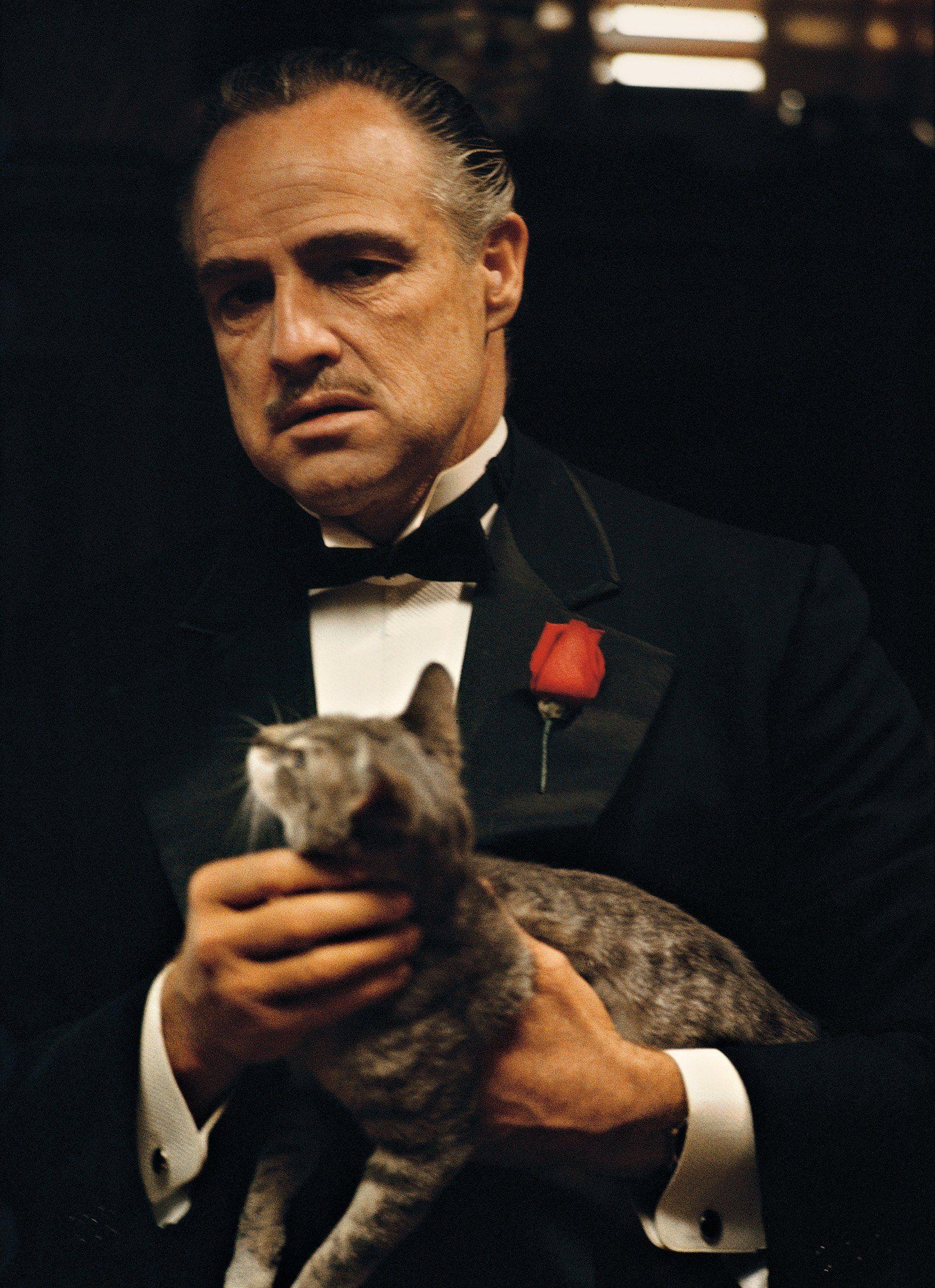 The Godfather: Francis Ford Coppola, Marlon Brando (Vito Corleone ...
